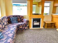 Very Cheap Starter Static caravan For Sale At Sandylands Near Craig tara