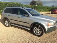 VOLVO XC90 2.4 D5 SE DIESEL AUTOMATIC AWD IN SILVER 2003 WITH 170K AND 12 MONTHS MOT