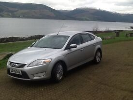 Ford Mondeo Ghia 1.8 tdci (125) 5dr 6sp, 1 yr MOT, 9 main dealer service stamps, just been serviced.
