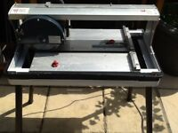 Performance power radial tile cutter