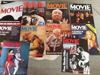 """Issues 1 - 10 of """"The Movie Magazine"""" (1980)"""