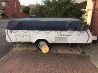 Folding Camper - Penine Sterling 510 with Awning & Bed Skirts