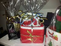 Christmas Hamper/Gift Of Avon Products Gift Wrapped