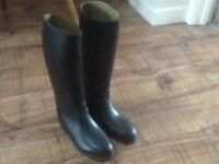 Riding boots black size 5/38