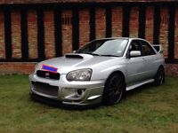 2004 Subaru Impreza WRX STI TYPE UK - 427bhp/420lbsft - 2.5l Forged engine
