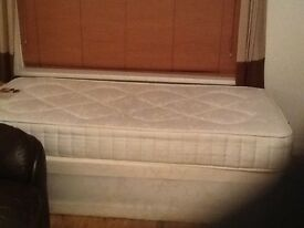 Single Divan Bed ( only bought 10 weeks ago)