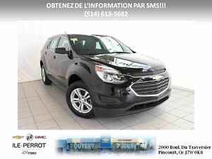 2016 Chevrolet EQUINOX AWD LS AWD, CAMERA ARRIERE,BLUTOOTH