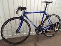 Custom Flat Bar Race Bike / Fast Commuter