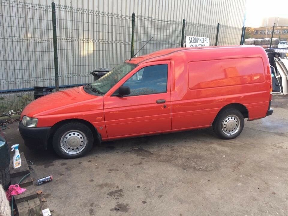 Ford escort clean van no mot