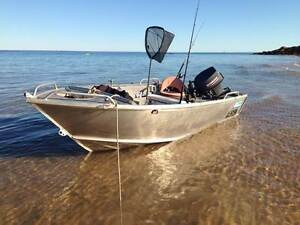 Procraft Plate Tinny with 40 hp Yamaha and Dunbier trailer Ulladulla Shoalhaven Area Preview