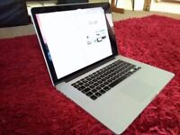 Macbook Pro 15 Retina 2012 i7 2,6 GHZ Logic Board + 500 GB SSD - Power Jack Board - SPARES PARTS