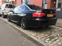BMW 335d Black Mint condition, m4 sat nav, high spec. A must see car