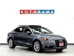 2015 Audi A3 LEATHER SUNROOF 4WD