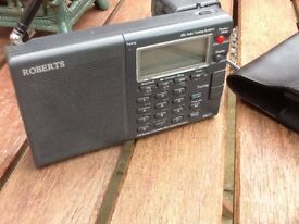 Roberts r617 portable radio FM am sw