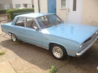 Plymouth valiant 2.7