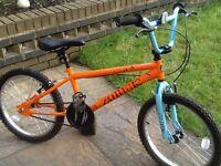 Zombie claw bmx stunt bike