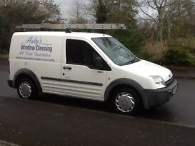Window Cleaning Van - Pure Water Pole System.