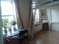 Double room to share with a girl near Hammersmith / Shepherd bush