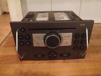 Vectra C facelift CD player