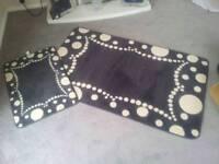 Washable mat sets