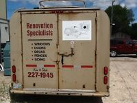 Construction  Trailer PRICE REDUCED