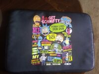 Rick and Morty Laptop Case 15""