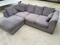 🔥LIMITED STOCK🔥NEW BYRON JUMBO CORD CORNER & 3+2 SOFA IN STOCK🔥CASH ON DELIVERY🔥