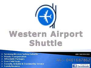 Affordable Private Airport Shuttle - Family Business - We Care! Blacktown Blacktown Area Preview