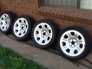 Ford Territory chrome steel rims Hay Hay Area Preview