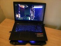 Powerful Gaming Notebook - MSi GE72 2QE in Excellent Condition + free Cooling Pad & Case