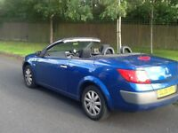 06 PLATE RENAULT MEGANE 1.5 DIESEL DCI CONVERTIBLE 1 FORMER KEEPER SERVICE HISTORY 6 SPPED GEARBOX