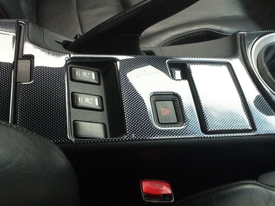 2006 2007 2008 Interior Carbon Fiber Dash Trim Kit Set For Nissan 350z 350 Z 350 Cad