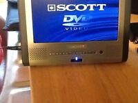 Scott 7 inch DVD player tablet