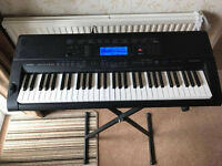 Casio CTK-5000 Digital Keyboard with stand and bag