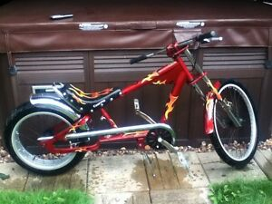 Vélo chopper original impecable *RARE*