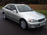Lexus IS 200 SE (aluminium silver) 2001