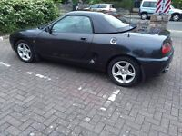 MG MGF 1.8 VVC with hardtop, windbreak and luggage rack