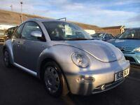 VW Beetle 1.6 SR, 51 plate 2001...93,000 MILES...ONE YEARS MOT...GREAT WEE CAR!!