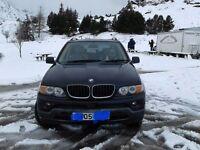 Black 3l Bmw x5 diesel
