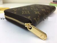 Louis Vuitton Brand New Genuine Zippy Compact Wallet +RECEIPT+DUST BAG+BOX+