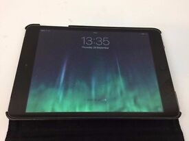 "Apple Ipad Mini 2 7.9"" - 16GB with Retina Display, Wifi + Cellular/Sim - Unlocked - Mint. ME800b/A."
