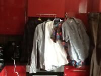 Designer shirts,Ted Baker,Timberland,Penguin,also jeans and Italian leather shoes,bargain,loc deliv
