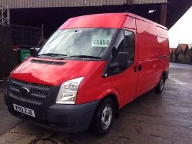 2012 Ford Transit 125 t300 FWD van px welcome no vat