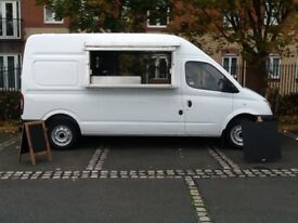 Catering van ready to go for new business adventure stock only needed to get going !!!!!!!!!!!!!!