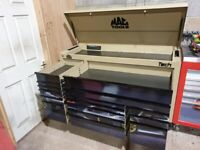 Mac Tools Tech DropTop Roll Cab Tool Chest MB1084DT NEW 16 Drawer Workstation. Snap ON. DELIVERY