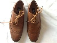 Brown boys shoes - size 13