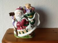 Christmas. Mr Santa teapot