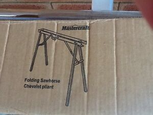 Folding SawHorses x2 Dianella Stirling Area Preview