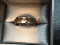 Men's silver ring size 9 or 10