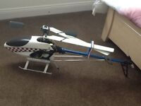 Large nitro rc helicopter 50 raptor and mini raptor electric